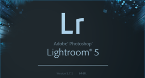 Lightroom 5.7.1 Splashscreen